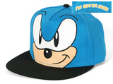 Sonic- I'm Outta Here Smirk Snapback Hat