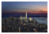 New York at Night IX Prints by James McLoughlin