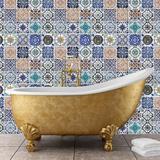 Mosaic Tile Patterns Autocollant mural
