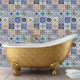 Mosaic Tile Patterns Wall Decal
