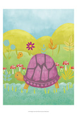 Happy Turtle II Poster by Chariklia Zarris