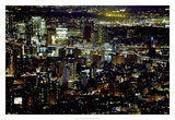New York at Night II Prints by James McLoughlin