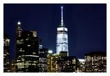 New York at Night VI Prints by James McLoughlin