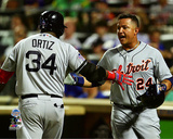 David Ortiz & Miguel Cabrera 2013 MLB All-Star Game Photo