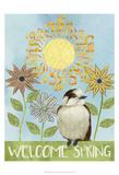 Spring Welcome I Pósters por Grace Popp