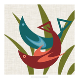 Avian Abstraction II Poster by Sharon Chandler
