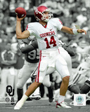Sam Bradford University of Oklahoma Sooners 2007 Spotlight Action Photo