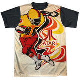 Atari: Football- Rush Action Black Back Shirts