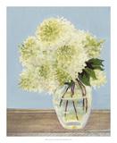 Hydrangea Vase II Print by Dianne Miller