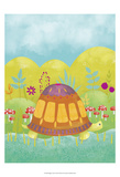 Happy Turtle I Prints by Chariklia Zarris