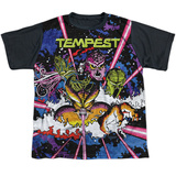 Youth: Atari: Tempest- Demon Horde Black Back T-shirts
