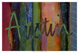 Abstract Austin Prints by Sisa Jasper