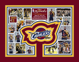 Cleveland Cavaliers 2016 NBA Finals Champions Milestones & Memories Matted Print