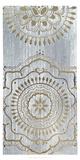 Metallic Foil Indigo Mandala II Posters by June Erica Vess
