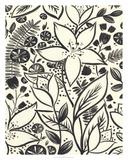 Brushstroke Blossoms I Giclee Print by June Erica Vess