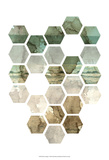 Hexocollage I Prints by Pam Ilosky