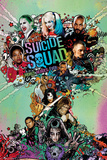 Suicide Squad- Worst Heroes Ever One Sheet Posters