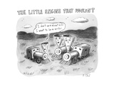 The Little Engine that Wouldn't - New Yorker Cartoon Premium Giclee Print by Roz Chast