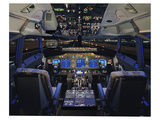 737 with Heads Up Display Kunst van  Anonymous