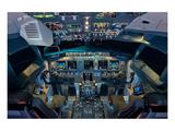 737 Next Generation flight deck Poster von  Anonymous