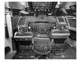 377 Stratocruiser flight deck Prints by  Anonymous