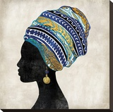 Gele II Stretched Canvas Print by Mark Chandon