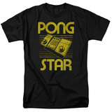 Atari: Pong- Distressed Star T-shirts