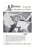 1940 Defense Boeing ad Posters by  Anonymous