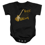 Infant: Jeff Beck- Distressed Guitar Marquee Onesie Infant Onesie