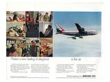 Boeing 747 advertisement from 1969 Kunstdrucke von  Anonymous