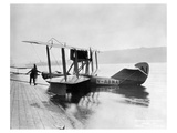 B-1 pusher flying boat Prints by  Anonymous