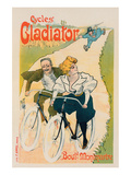 Cycles Gladiator Boul. Montmartre Prints by Ferdinand Mifliez
