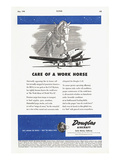 Care of a Work Horse Douglas ad Posters by  Anonymous