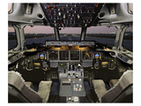 Boeing 717 Electronic Flight Deck Art by  Anonymous