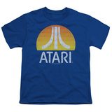 Youth: Atari- Distressed Sunrise Logo Shirts