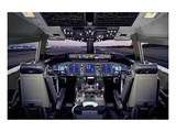 Boeing 767 flat-panel flight deck Print by  Anonymous
