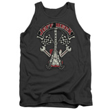 Tank Top: Jeff Beck- Superstitous Guitar Distressed Tank Top