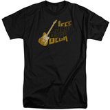 Jeff Beck- Distressed Guitar Marquee (Big & Tall) T-shirts