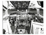 DC9 Flight Deck Art by  Anonymous