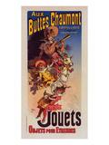 Aux Buttes Chaumont - Jouets Prints by  Cheret
