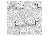 Autumn Leafs Coloring Art Prints by  Anonymous