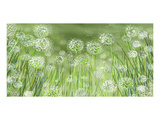 Dandelion party Prints by Claire Westwood