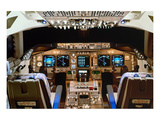Boeing 747 digital Flight Deck Posters by  Anonymous