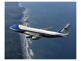 Boeing 747-200B Air Force One Premium Giclee Print by  Anonymous