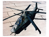 Comanche reconnaissance helicopter Print by  Anonymous