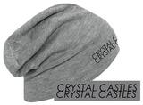 Crystal Castles- Double Logo Beanie Beanie