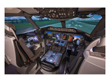 Boeing 787 Flight Deck Prints by  Anonymous