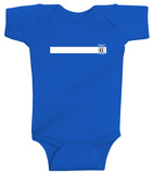 Infant: Queens of the Stone Age- Restricted White Stripe Onesie Infant Onesie