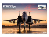 A-15 Eagle Superiority Fighter Prints by  Anonymous