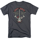 Jeff Beck- Superstitous Guitar Distressed Shirt